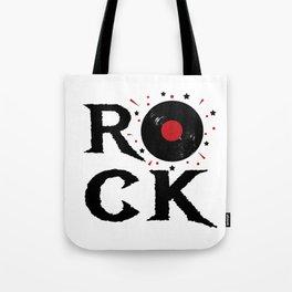 Rock illustration Tote Bag