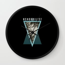 Nemophilist 001 Wall Clock