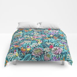 Stand out! (fresh aqua) Comforters