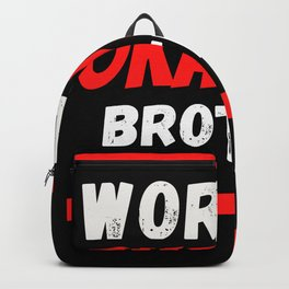 Worlds okayest Brother Backpack