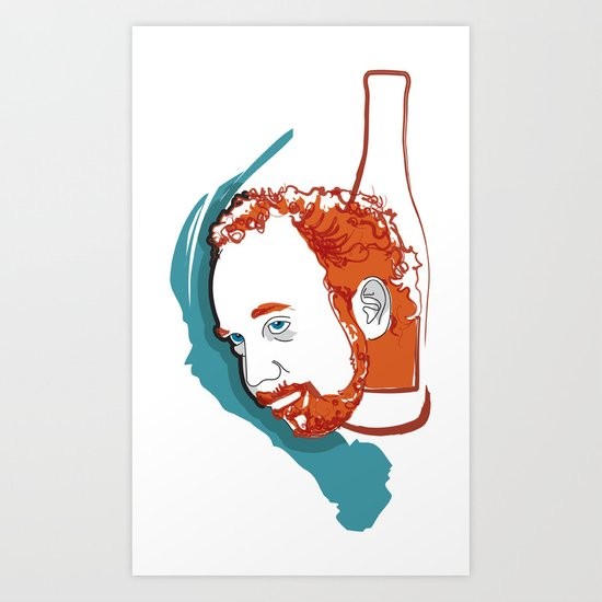 Paul Giamatti - Miles - Sideways Art Print