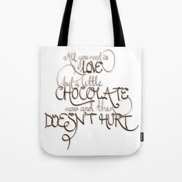 A Little Chocolate Tote Bag
