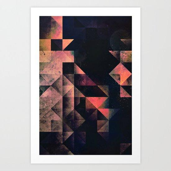nyxt chyptyr Art Print