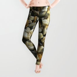 pebble stone I Leggings