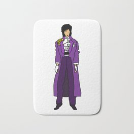 Ultraviolet Purple One 5 Bath Mat