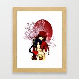 Kenshin & Kaoru Framed Art Print