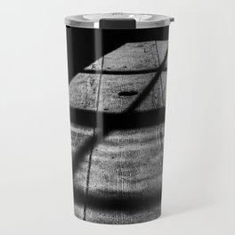 Shadows in the cabin Travel Mug