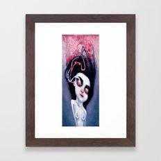 (Below) Melancholy Framed Art Print