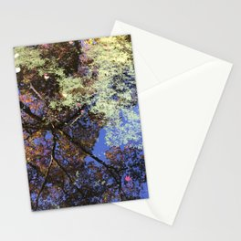 Japanese Maple Tree Reflections Stationery Cards