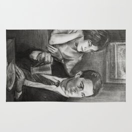 TWIN PEAKS - COOPER AND AUDREY Rug