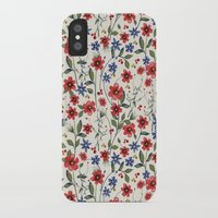 poppies iPhone & iPod Cases featuring Poppies by moniquilla