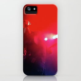Red Music iPhone Case