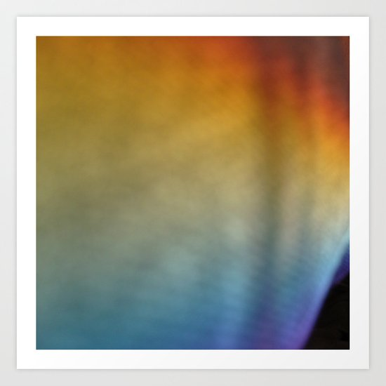 rainbow on a sunday 1 Art Print