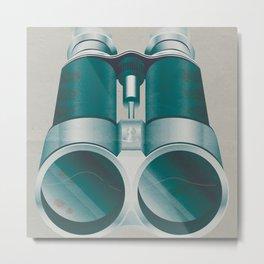 Bloody Binoculars Metal Print