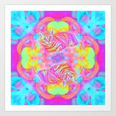 Snug-Lady Jasmine Art Print