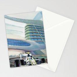 Brawn under Yas Hotel Bridge Stationery Cards