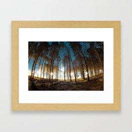 Gloomy Framed Art Print