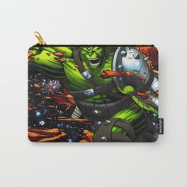 green rampage Carry-All Pouch