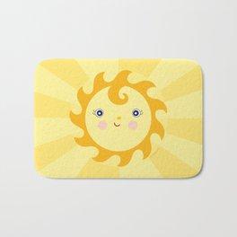 Sunny Sunshine Bath Mat