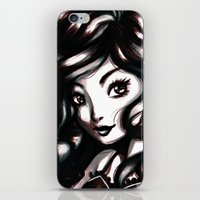 queen iPhone & iPod Skins featuring Queen by NoodleBeri