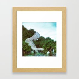 Hide-N-Seek Framed Art Print