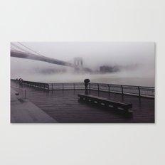 NY Fog Series No.1 Canvas Print