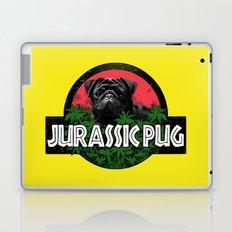 Jurassic pug Laptop & iPad Skin