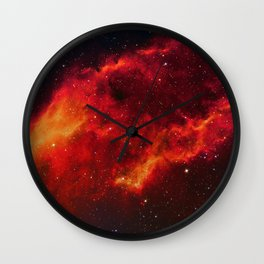 Nebula in Constellation Perseus Wall Clock