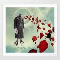 Oiseau de Mauvaise Augure Art Print
