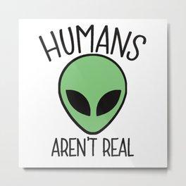 alien humans Metal Print