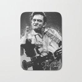 Johnny Cash Bath Mat