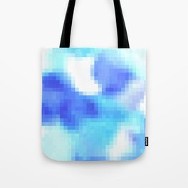 pixelated watercolor IV Tote Bag