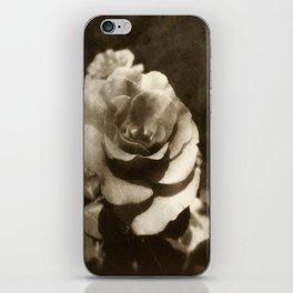Rosas Moradas 1 Antiqued iPhone Skin