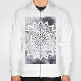 BOHO WHITE NIGHTS MANDALA Hoody
