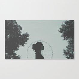 Paris, mon amour. [ 1 ]  Canvas Print