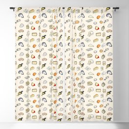 Cheese pattern Blackout Curtain
