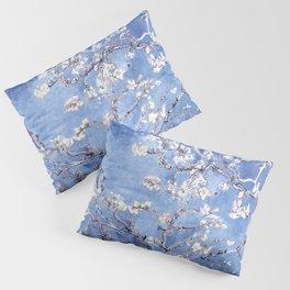 Vincent Van Gogh Almond BlossomS Blue Pillow Sham