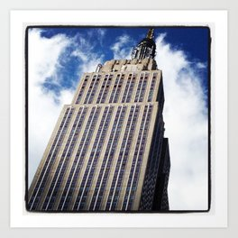 Empire State Building in NYC Art Print