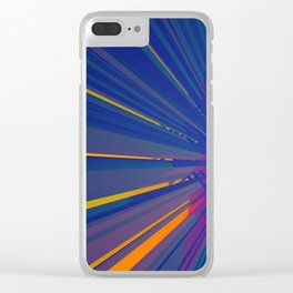 Rubis Automata 1 Clear iPhone Case