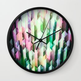 vivid quartz rising Wall Clock