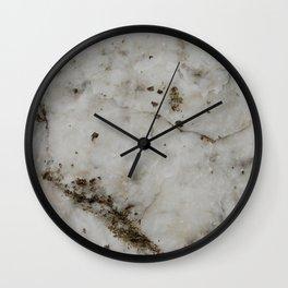 alabaster Wall Clock
