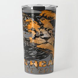 American Lion Heart Travel Mug