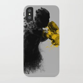 float like butterflies, sting like a bee iPhone Case