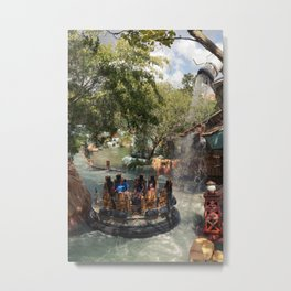 Popeye and Bluto bilge-rat barges Metal Print
