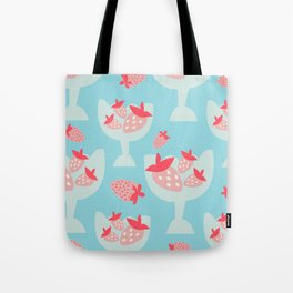 Strawberry Dessert Tote Bag