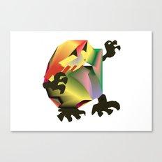 Mesh Monster Canvas Print