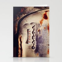 sport Stationery Cards featuring Volvo Sport by Anna Dykema Photography
