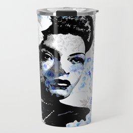 LADY AND ORCHIDS Travel Mug