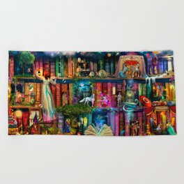 Whimsy Trove - Treasure Hunt Beach Towel