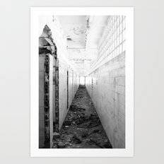Abandoned factory Rybnik, Poland Art Print